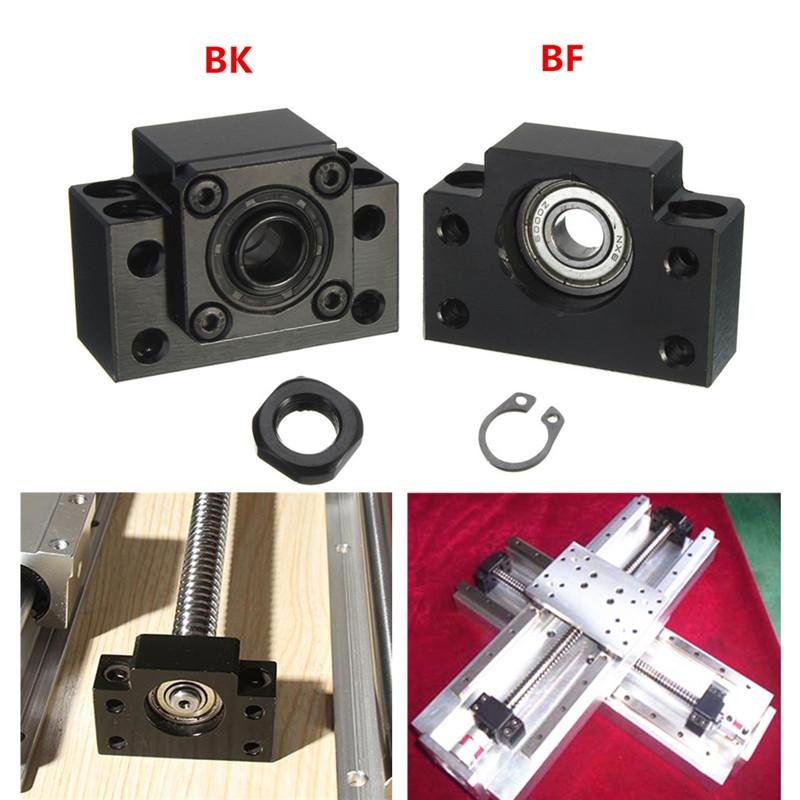 Best Price Fixed Side BK12 And Floated Side BF12 Ballscrew End Supports SOZ Bearing block