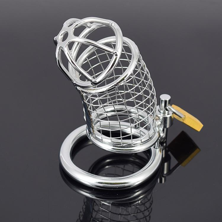 Sex Toys Chastity Device Metal Chastity Cage Male Cock Cage Chastity Belt Penis Rings BDSM Bondage Restraints Adult Products For Men