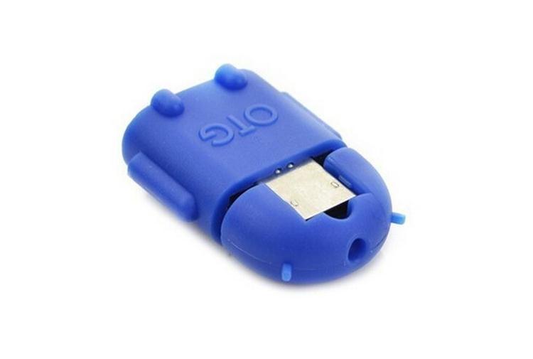 USB مايكرو USB لمحول وتغ الروبوت الروبوت الشكل وتغ محول للهاتف الذكي، والهاتف المحمول اتصال لUSB فلاش / الماوس / لوحة المفاتيح العالمي SY