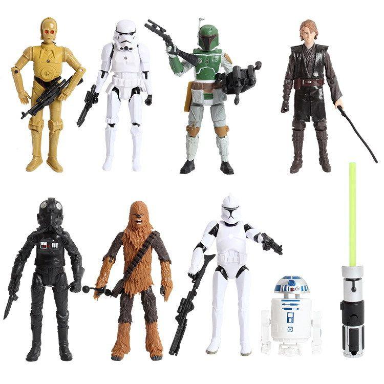 2017 newest 8 styles 15cm star wars action figures toy pvc loose figurine star wars figurine. Black Bedroom Furniture Sets. Home Design Ideas