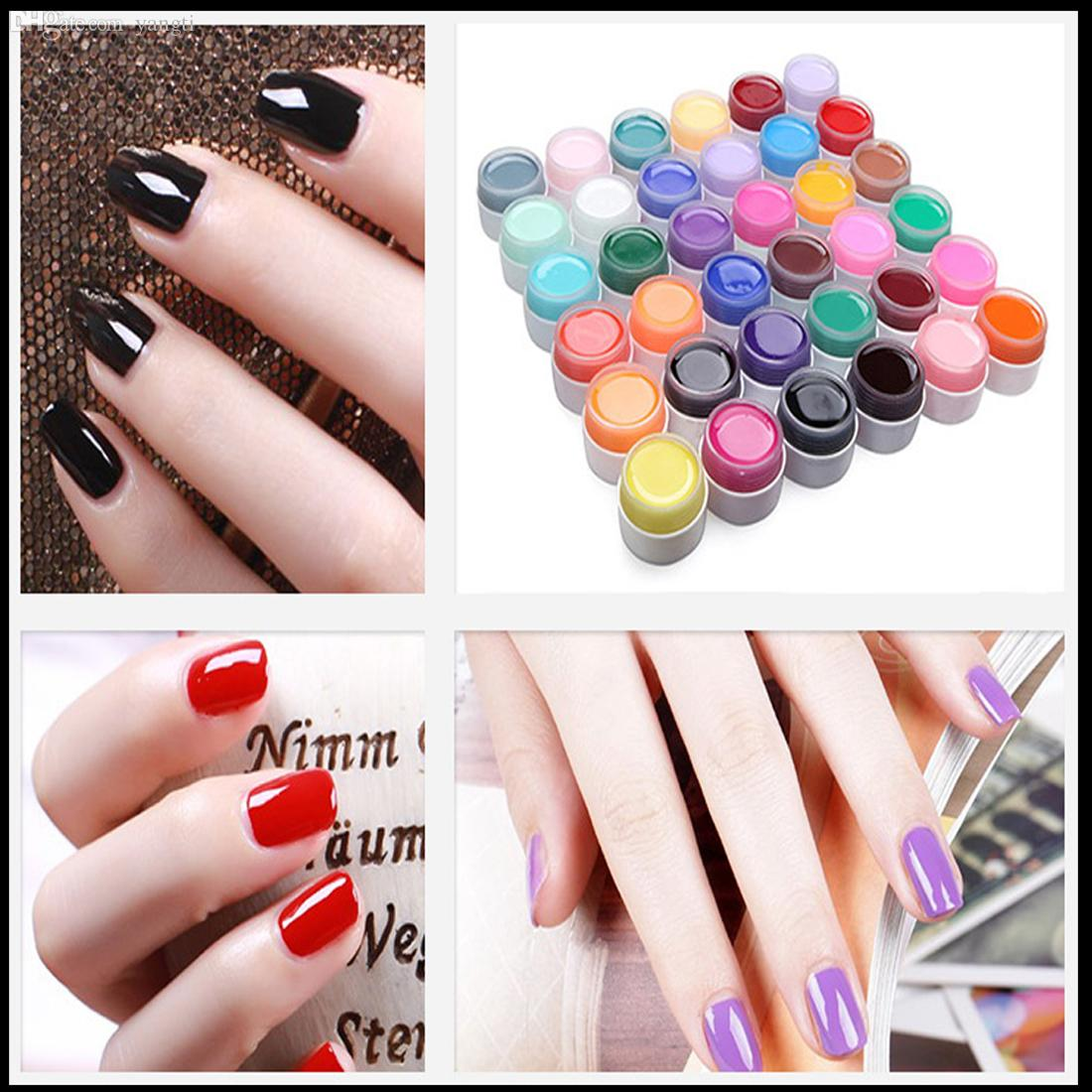 Wholesale New Fashion Nail Gel Pure Nail Polish Shiny Extension Nail ...