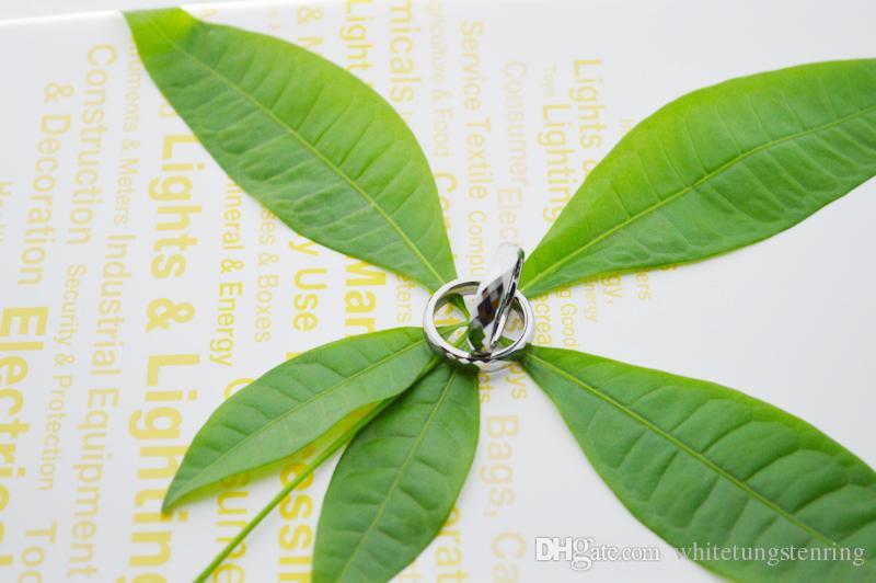 Anillos de joyería anillo de dedo meñique de la faceta de tungsteno para los niños y niñas y las mujeres 3 mm Anchura WRY-719