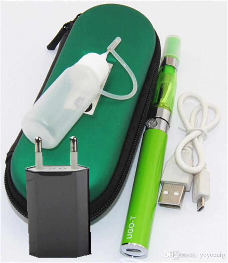 2016 micro USB passthrough Electronic Cigarette UGO-T 650/900/100mah Battery ugo ego t kit with case ugo ce4 ego kits ecig kit DHL free