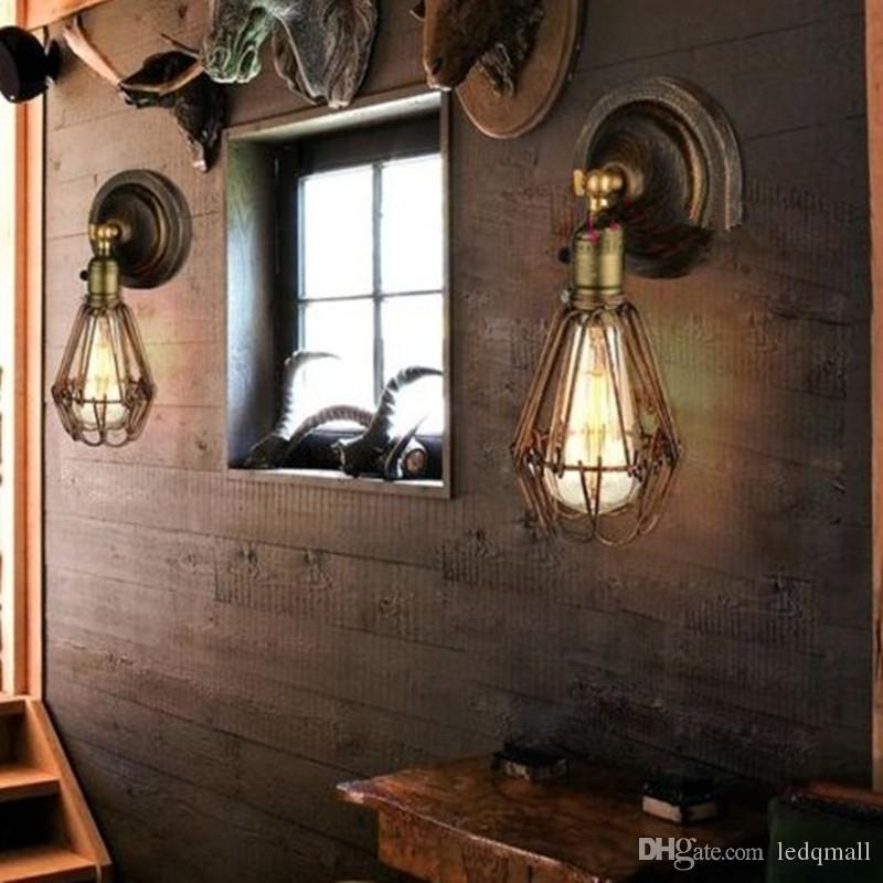 Crystal Bedroom Chandeliers Bedroom Furniture Za Bedroom Lighting Fixture Bedroom Decor Tumblr: Best Edison Vintage Wall Light Chandeliers Rustic Wire