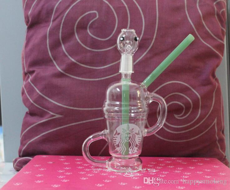 Edizione limitata Dabuccino Dabuccino dab.5,5 mm Dabuccino Recycler in vetro simile a Hitman Glass x Evol Glass Sand Blast Glass Bongs 2015
