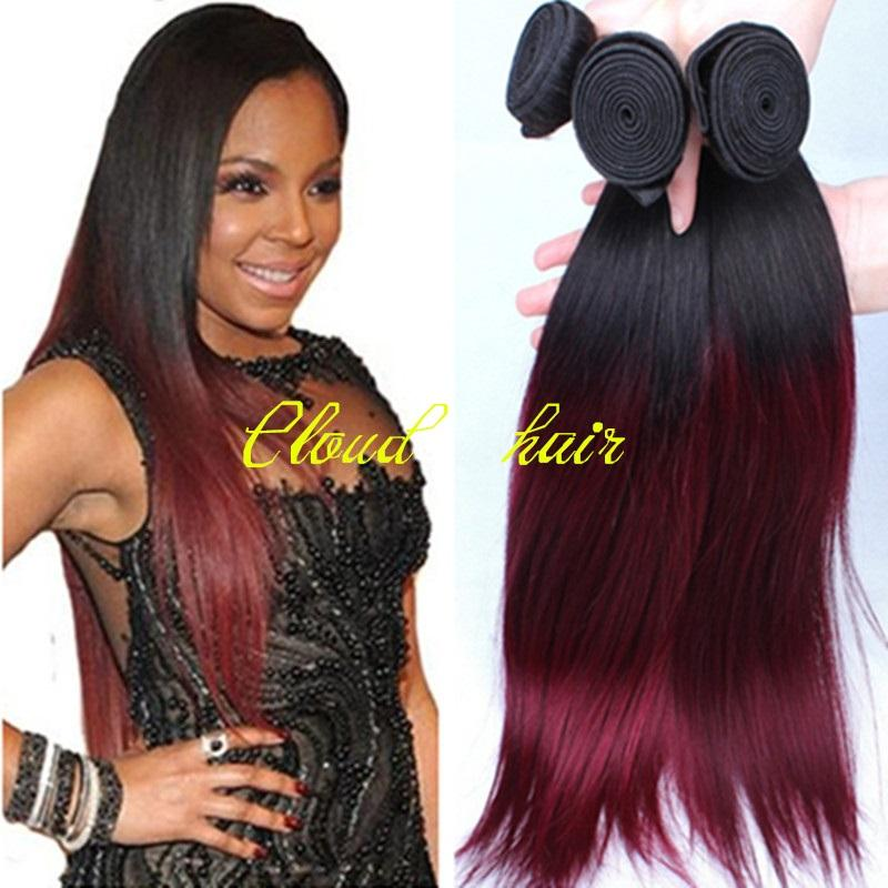 Cheap ombre malaysian virgin hair silky straight t1b99j human cheap ombre malaysian virgin hair silky straight t1b99j human hair extensions burgundy ombre hair weaving weft wine red two tone hair weave pmusecretfo Image collections