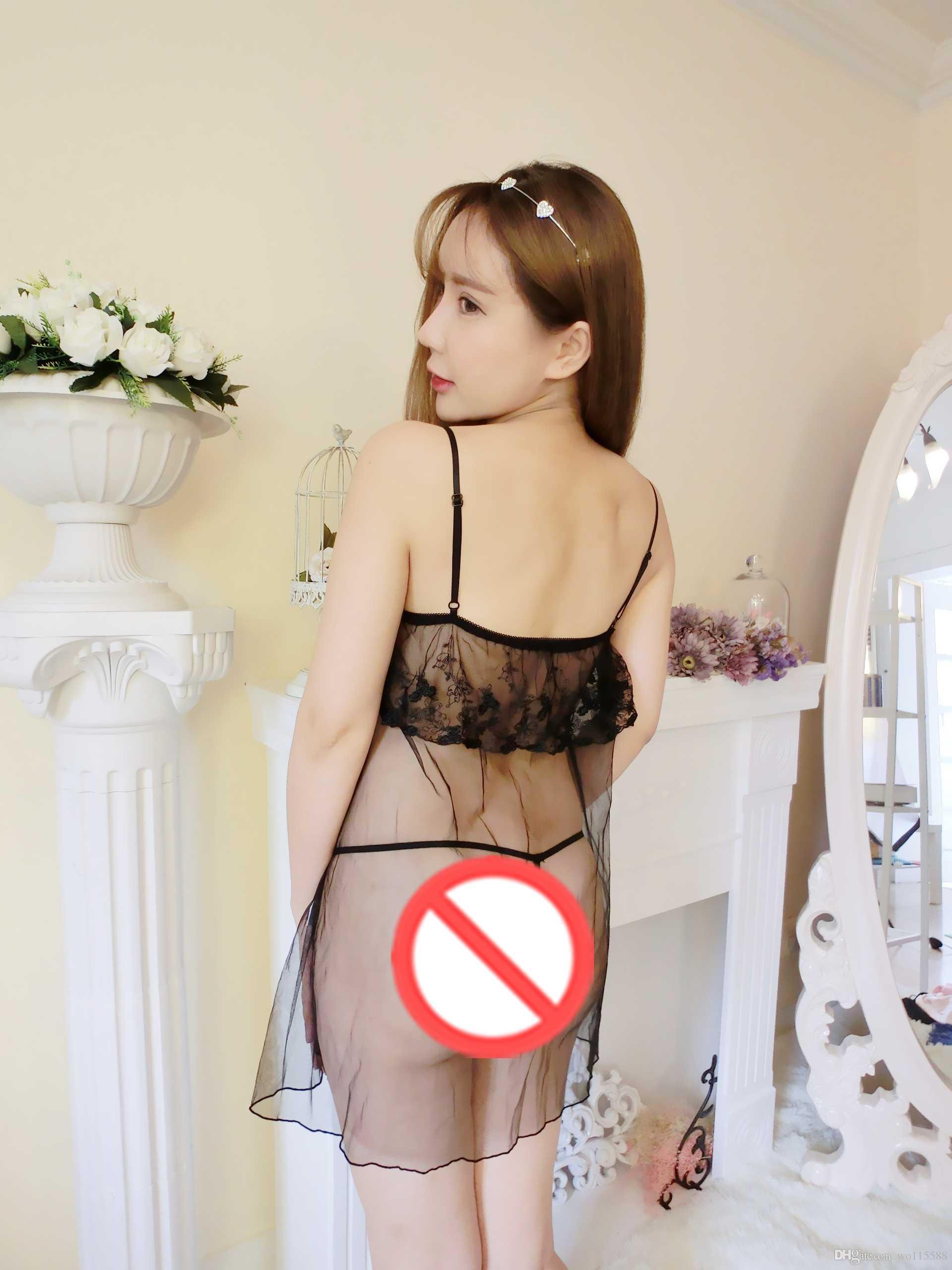 Freie reizvolle Pyjamas der neuen reizvollen Wäsche des Verschöners cosplay Wäsche D-Bügelperspektive der reinen gesetzten Versuchung transparente Tauversorgungen