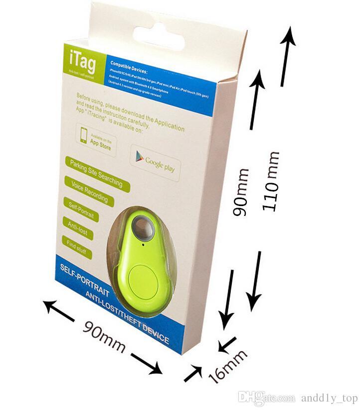 Beliebte Bluetooth Anti-Lost Alarm Tracker Kamera Remote Shutter IT-06 iTag Anti-Lost Alarm Selbstauslöser Bluetooth 4.0 für alle Smartphone US05