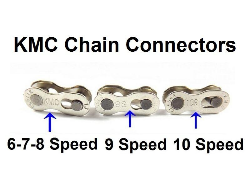 2018 Kmc Bike Chains Missing Link 6 7 8 9 10 11 Speed Mountain