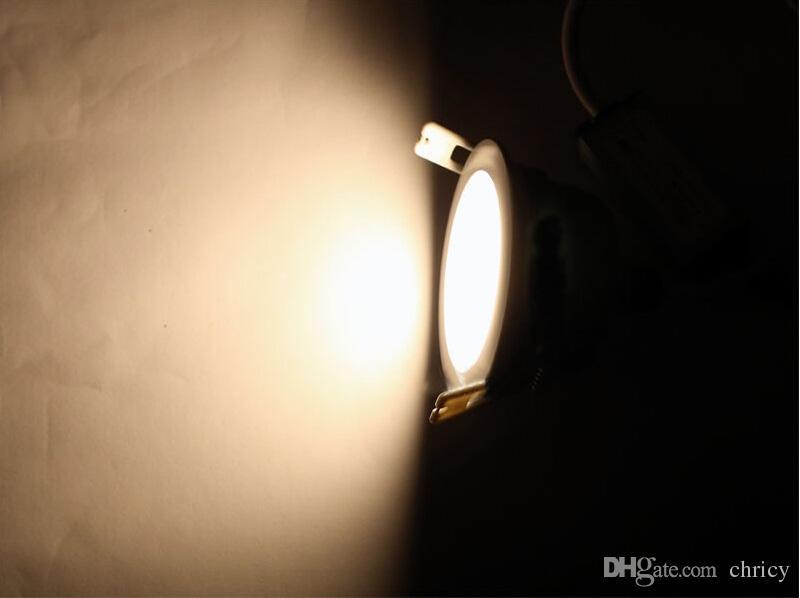 Superhelles wasserdichtes IP65 220V 7W / 9W / 12W / 15W Driverless dimmbares LED-Panel-Licht Kaltweiß Warmweißes LED-Downlight-LED-Licht
