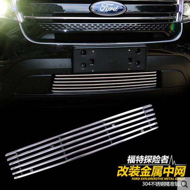 Suv Style Stainless Steel Grille Facelift Explorer Suv Front Car