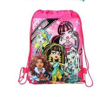 сумки монстр высокая кулиска сумки Монстр Хай рюкзаки сумки детская школа сумки детские сумки детские бесплатная доставка