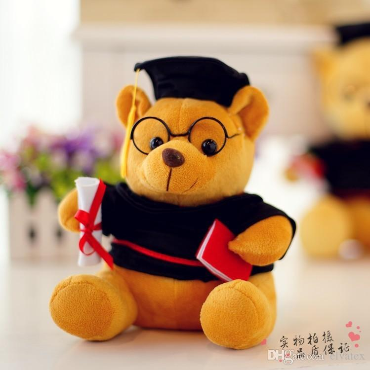 2019 30cm Graduation Teddy Bear Cartoon Stuffed Toys Valentine S Day