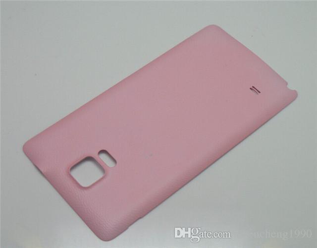 Reemplazo de la caja de la cubierta de la puerta trasera de la batería del OEM nuevo para Samsung Galaxy Note 4 Note4 nota4 N910F N910A N910T N910V