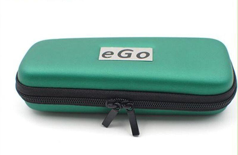 eGo Cremallera Funda de cuero para ego Kit de cigarrillos electrónicos Tamaño pequeño Tamaño mediano Tamaño grande Varios colores DHL rápido de alta calidad