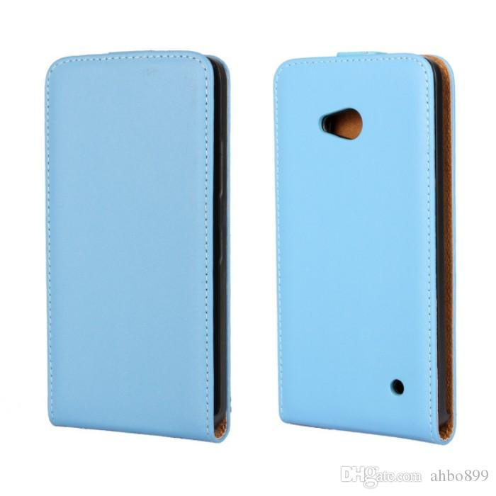 wholesale dealer 0fba4 7fe76 Wholesale For Microsoft Lumia 640 Case Newest High Quality Genuine Filp  Leather Cover Case For Nokia Lumia 640 Phone Case Free Shipping
