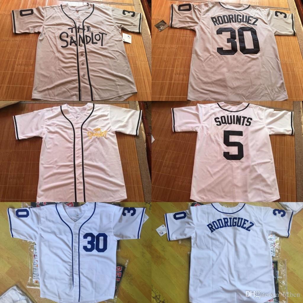2019 The Sandlot Baseball Jersey Rodriguez Jet Yeah Yeah Squints Hambino  Smalls S 4XL From B2bcn 035b08a3a