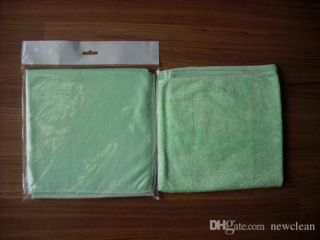40 cm x 40 cm 420 m2 Microfibra de Polimento Toalhas de Limpeza De Vidro De Aço Inoxidável Pano de Brilho Janela pano de Pano