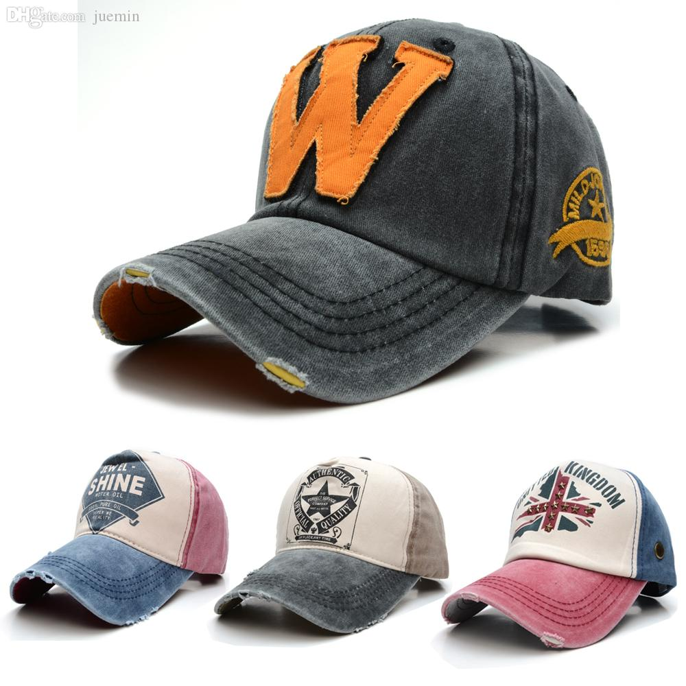 Wholesale Cool!!2015 New Branded Sports Baseball Cap Unisex Bone Baseball  Hat For Man Distressed Wearing Style Outdoor Baseball Caps Design Your Own  Hat ... f244aef3c
