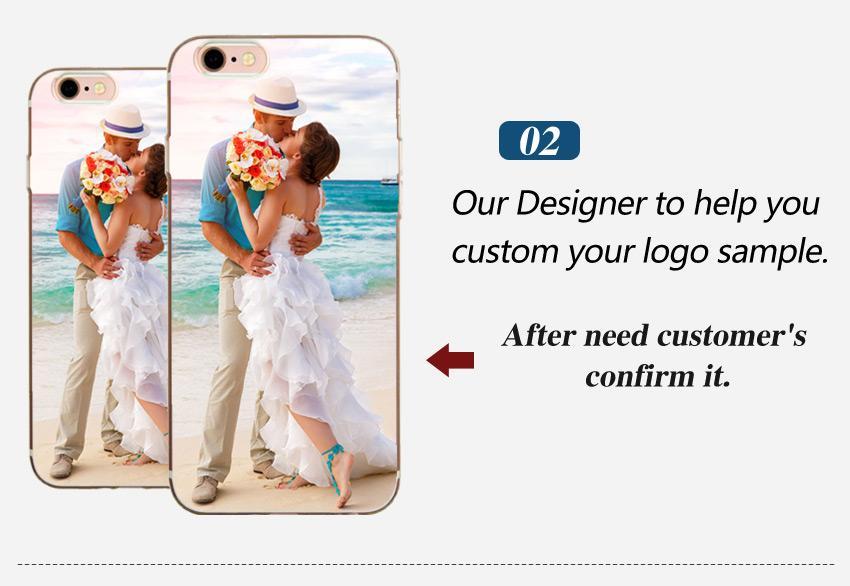 For iphone6 6plus iphone7/8 iphone7plus/8plus Custom DIY LOGO Design Photo Case Soft Silicon TPU Back Cover Customized Printed Mobile Phone