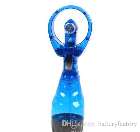 New 2015 handheld Portable Mini Water Spray Cooling Cool Fans Mist Sport Beach Camp Travel Mini Bladeless Fan with retail package