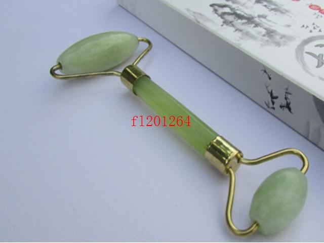 Women Lady Facial Relaxation Slimming Tool Jade Roller Massager For Face Body Head Neck Foot ,