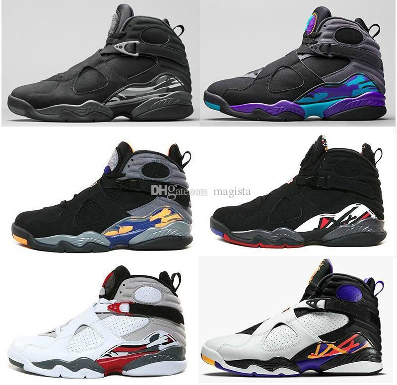 newest db6ca 3032e hot new 8 Bugs Bunny Doernbecher Basketball Shoes 8s aqua chrome countdown  pack SUNS PLAYOFF three peat Black White Blue