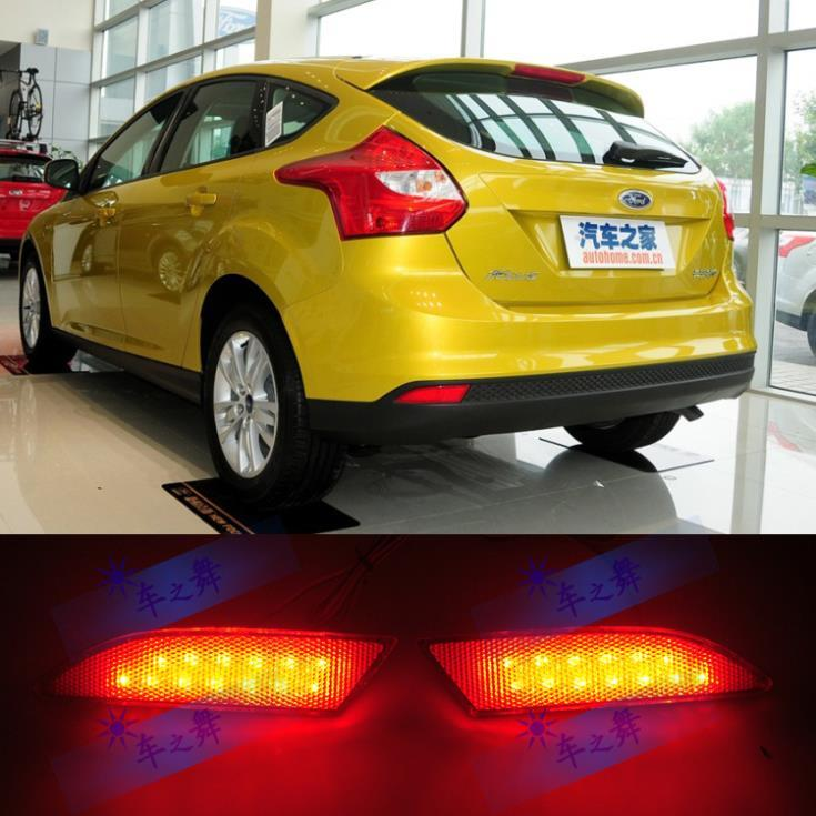 2018 sedan and hatchback special led bar lights modified rear 2018 sedan and hatchback special led bar lights modified rear bumper brake warning light fog lights for ford focus 3 mk3 2012 2013 from wengminyu1 mozeypictures Image collections