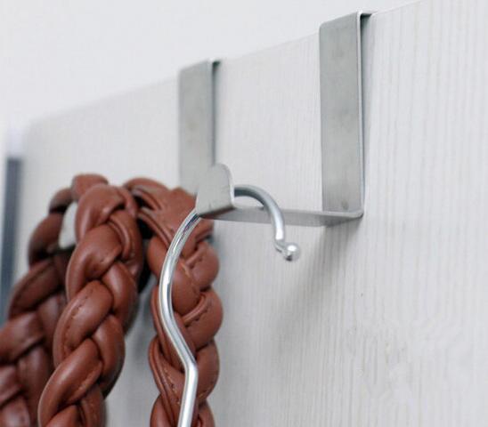 Il nuovo arriva i ganci sopra la porta dell'armadio da cucina Disegna i vestiti dell'asciugamano Pothook può trasportare 10kg