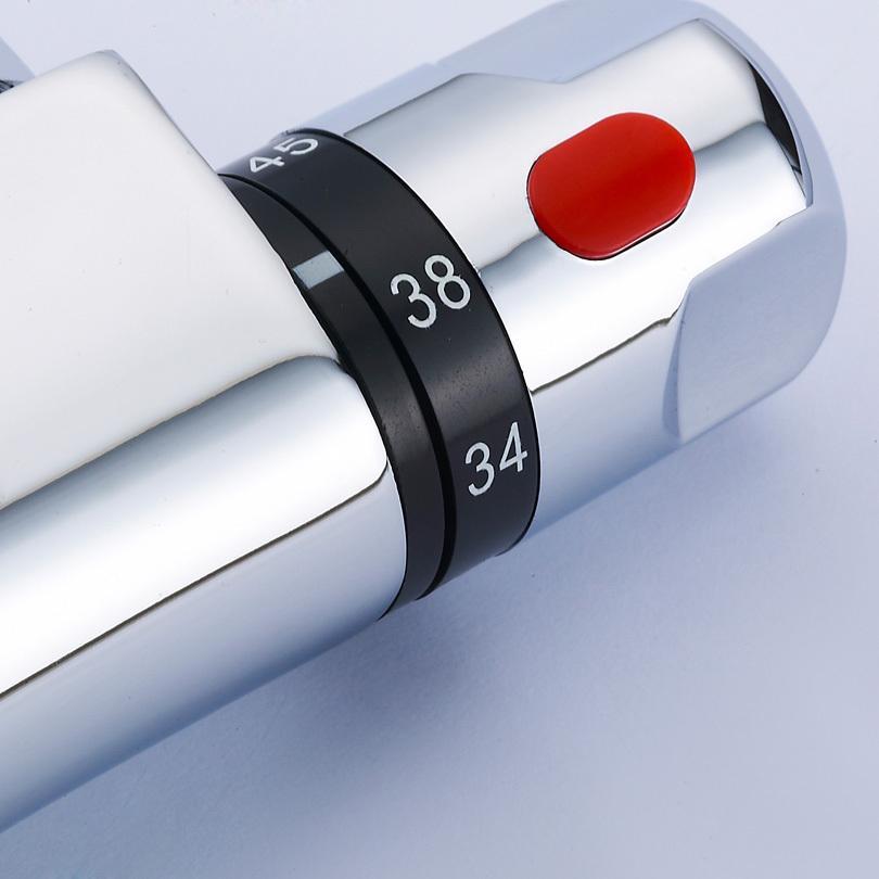 mischbatterie dusche thermostat tr43 hitoiro. Black Bedroom Furniture Sets. Home Design Ideas