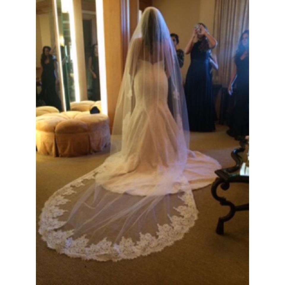 New Style 3m Long Veil Lace Appliques Cheap Wedding Accessories Cathedral Bridal Veil Romantic Wedding Veils Suit For Weddings & Events