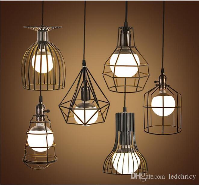 Super Bright Vintage LED Pendant Lights Industrial ...