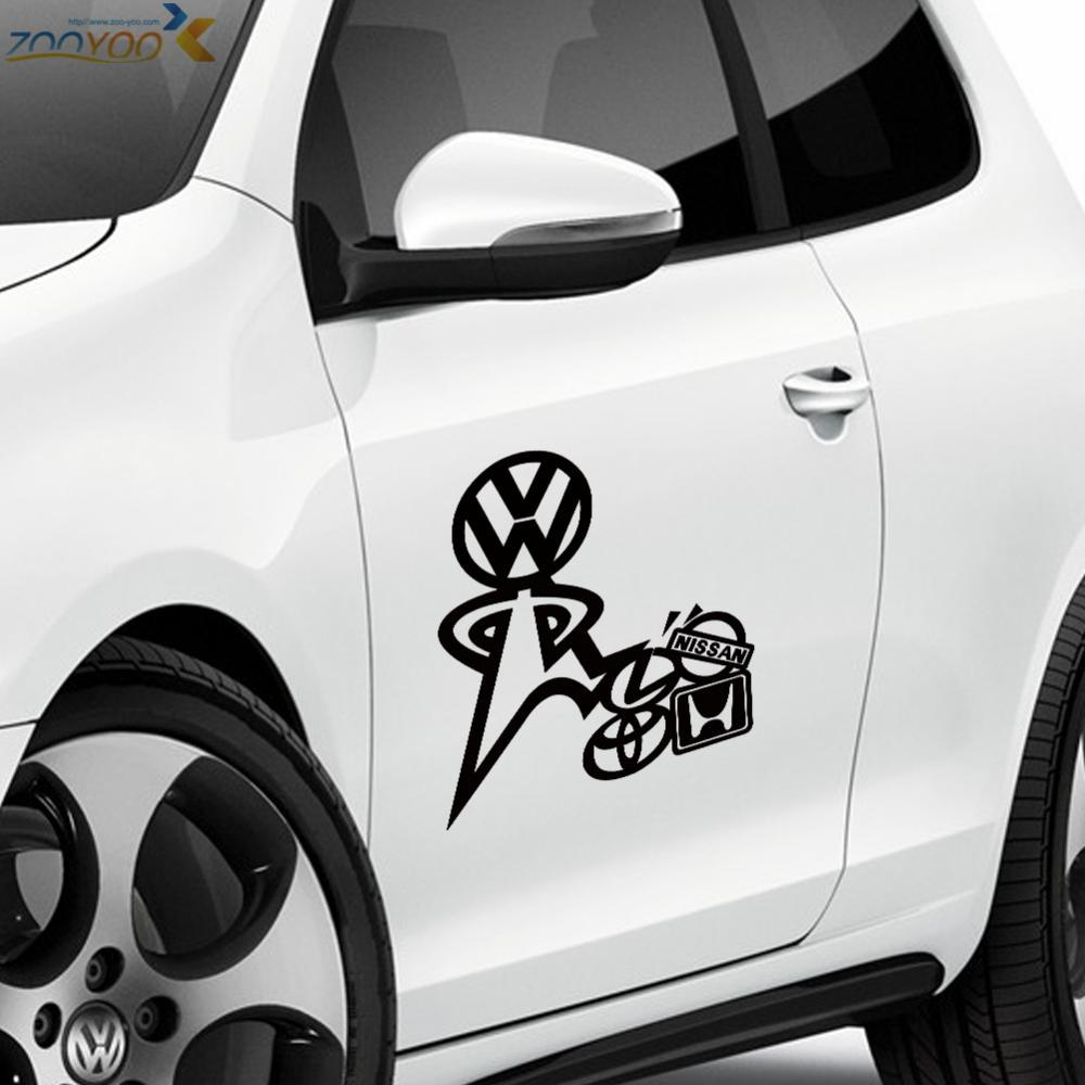 Cool Car Sticker Zooyoo 402 Car Decor Vinyl Wall Decal Waterproof