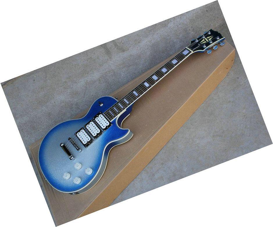 new arrival light bule ace frehley electric guitar oem. Black Bedroom Furniture Sets. Home Design Ideas