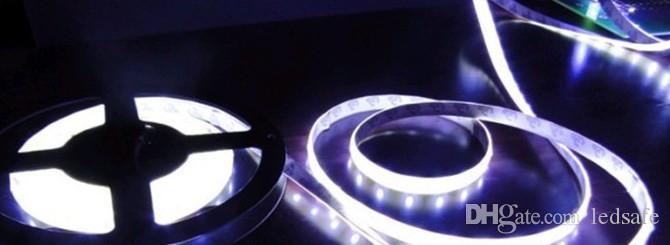 SMD 5630 LED قطاع كيت 12 فولت 5 متر لكل لفة 72 واط شرائط الدافئة الأبيض الأحمر الأزرق الأخضر مع موصل 6a محول الطاقة 5 متر 12 فولت 300 المصابيح 60 المصابيح / م