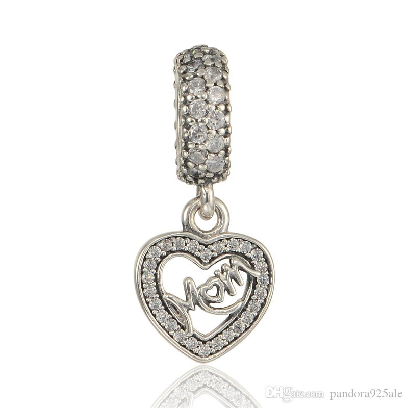 28a48a0fe 2019 CENTRE OF MY HEART PENDANT CHARM Real Solid 925 Sterling Silver Not  Plated Fits Pandora Bracelet&Charms From Pandora925ale, $10.71 | DHgate.Com