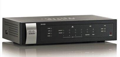 Wireless router New original Cisco RV320-K9-CN Gigabit Dual WAN VPN Router  Gigabit Router