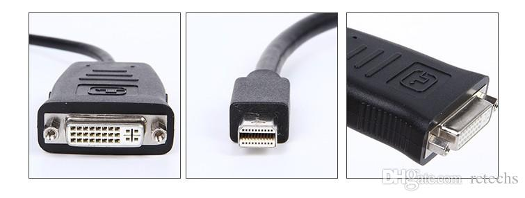 Hot New active Mini DisplayPort to DVI/HDMI Big DP to DVI 4k resolution three to six screen Eyefinity DHL free