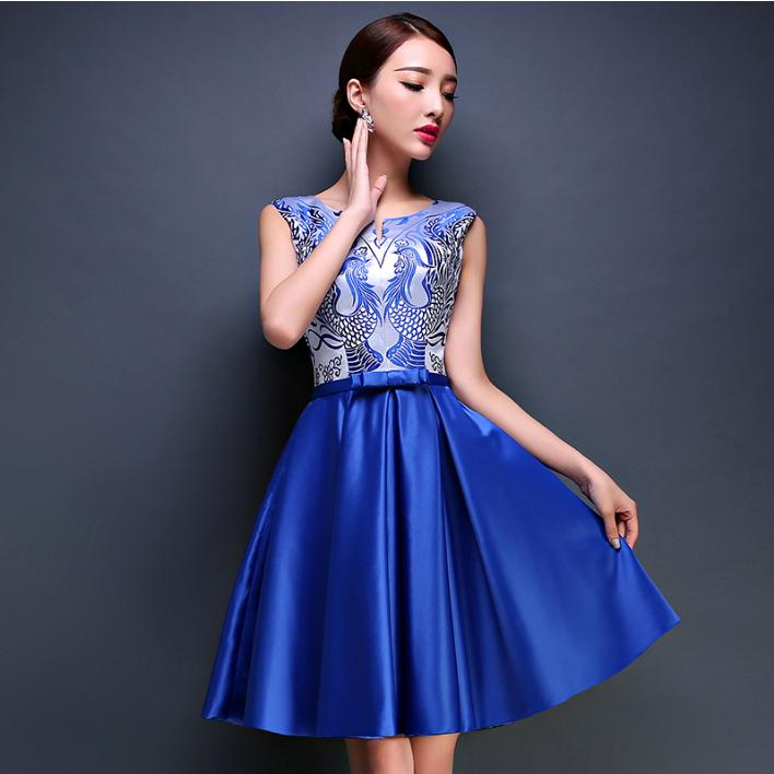 Royal Blue Short Dresses
