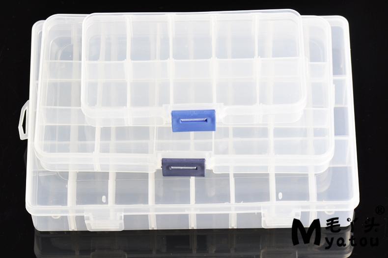 Transparent Plastic Storage Box Jewelry Box Box Box Loose Beads Jewelry  Accessories Small Beaded Boxes Small Medium Large Jewelry Boxes Plastic Box  Storage ...