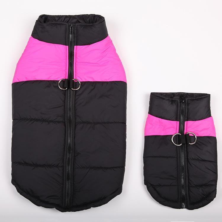 Vêtements imperméables pour petits chiens hiver chiot Chihuahua Pet Dog vêtements imperméable moyen grand chien manteau veste