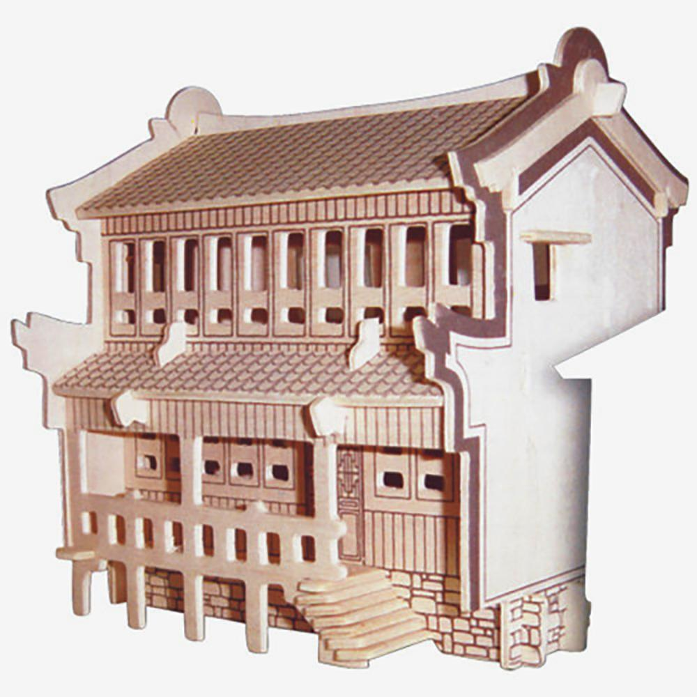 3d wooden jigsaw puzzle for kids educational intelligence toy