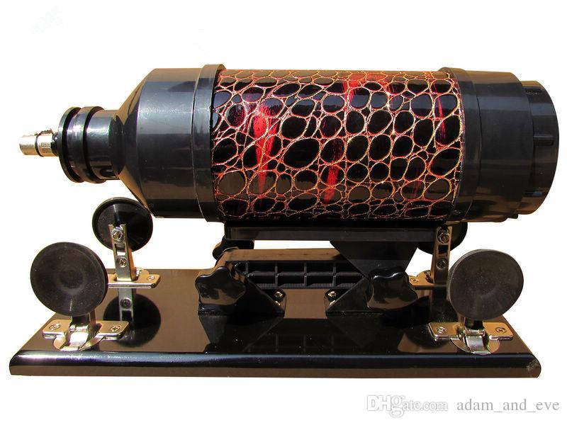 Женский Мастурбация Автоматический Секс-Пулемет с Силиконовым Фаллоимитатором 6 см Выдвижные Машины Любви Секс-Игрушки для Женщин