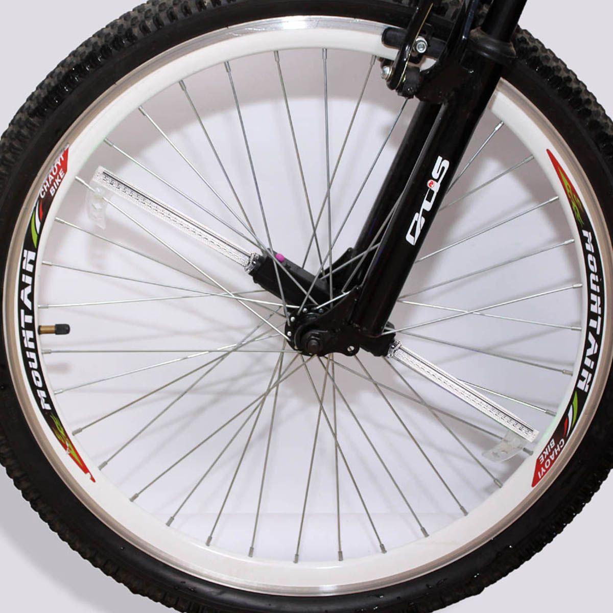 Alta calidad 36LED 32 modelos de luz de la bicicleta LED RGB impermeable de color de la bicicleta que cambia la luz de la rueda para montar en la noche luces led bicicleta