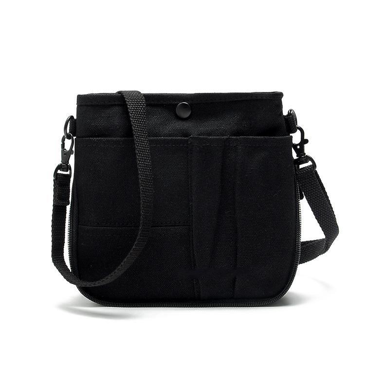 2017 Cheap Small Canvas Messenger Bags Woman Black Handbags Men ...