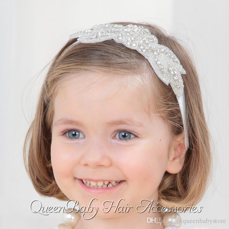 Baby Girl Bling Rhinestone Headband Baby Headband Luxe Headband Baptism  Headband Princess Headband Queenbaby Handmade Hair Accessories For Kids Big  Hair ... 13d9e565142