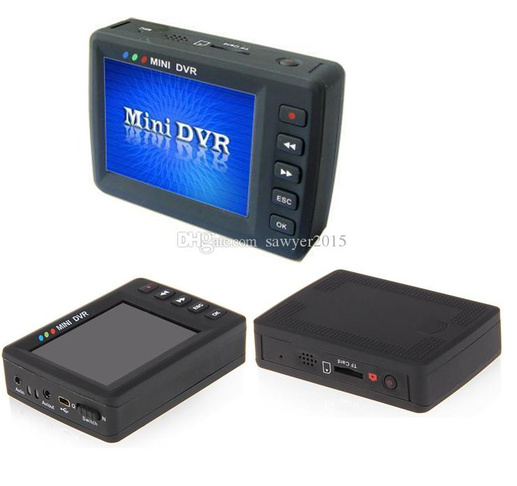 Original Angel Eye KS-750m 2.7 pulgadas LCD TFT Botón de pantalla Mini DVR Detección de movimiento Mini sistema de grabación de video DVR