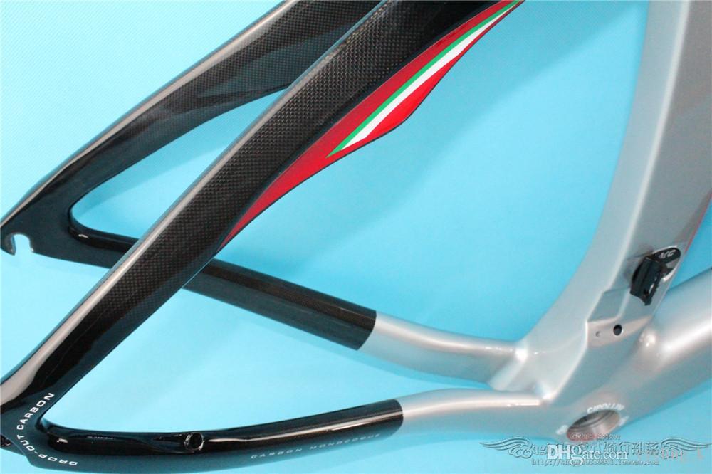 T1000 1 K MCipollini RB1000 M3 Quadro De Carbono, garfo, fone de ouvido, selim Tamanho: XXS, XS, S, M, L, quadro de bicicleta de estrada Cipollini RB1000 BB30 BB68 frete grátis