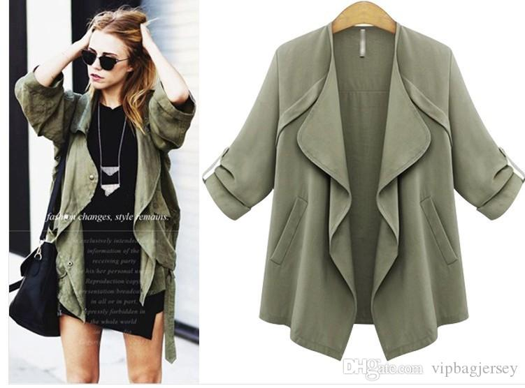 2015 New Brand Design Autumn Outwear Casual Jacket Women Fashion ...