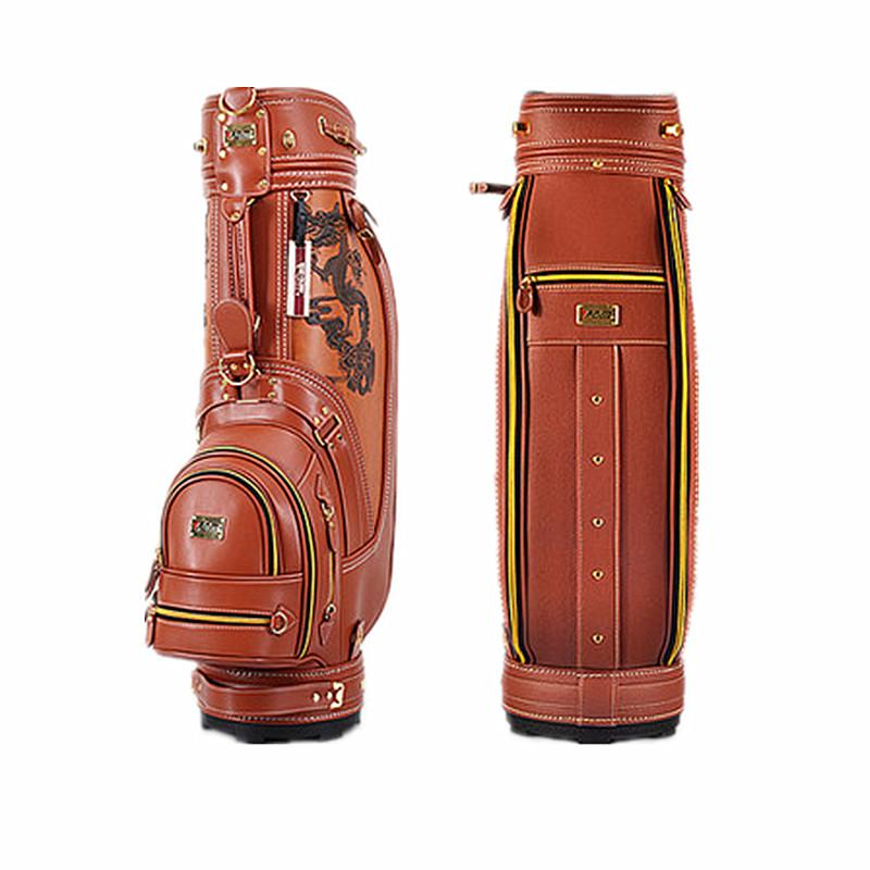 Wholesale-Leather Golf Package Bags Outdoor Sports Bag Golf Bag High ... e08f8e7d91079
